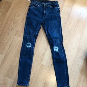 Silver Jeans Robson high rise skinny jegging